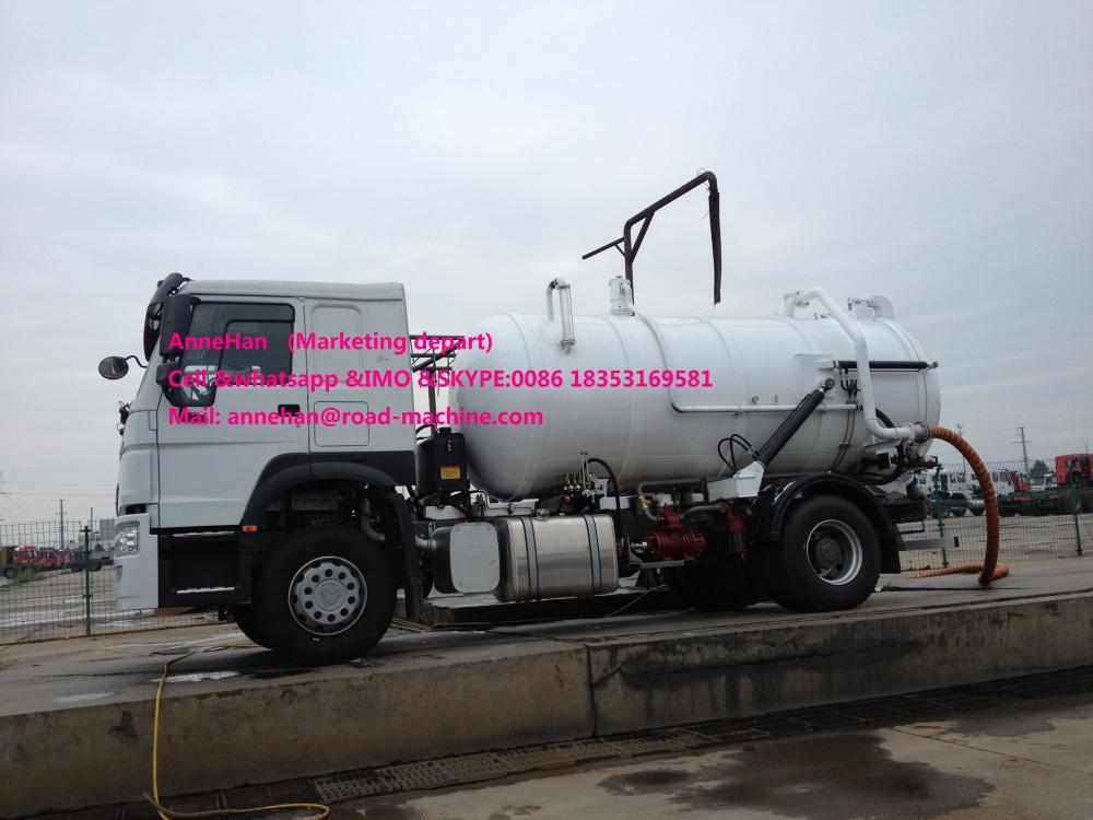 Sewage Tank Truck 2