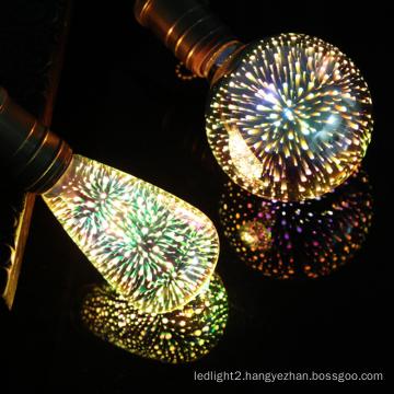 Hot Selling New Design 3D Filament Bulb