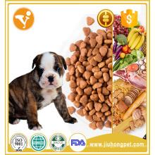 Ajude a crescer alimentos com cachorros secos com alto teor de proteína e cálcio