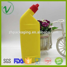 HDPE customized high-quality flat liquid detergent plastic bottle with logo