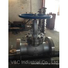 API Cast Steel Wcb/CF8/CF8m Flanged Globe Valve