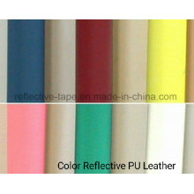 Colorful Reflective PU Leather for Bags