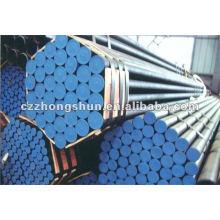 MS preto erw tubo de aço ASTM A53 Gr B / Q235B / SS400