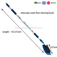 Fluxo de água de 2m através da escova da ferramenta da lavagem de carros