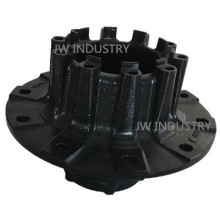 Customized wheel hub iron casting for auto truck trailer