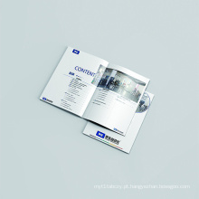 Impressão de catálogo de revistas personalizadas
