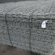 Galvanized and PVC gabion boxes
