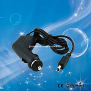 Universal Cell Phone Car Charger with Mini USB/Micro USB Cable (JX-221)