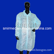 Disposable Non Woven Lab Coat Hospital Coat