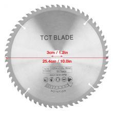 Hoja de sierra circular de corte de aluminio de carburo TCT