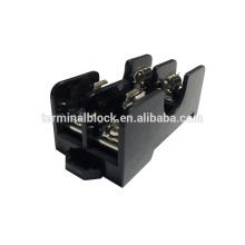 FB-0612 2 Way Din Rail Mount Low Voltage Screw Links And Fuse Base