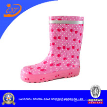 Botas de lluvia lindas de Pink Cherry Girls Kr042