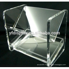 High quality clear color document holder clear acrylic file holder