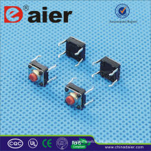 Daier KANF66-H H=4.3/5.0mm IP68 Waterproof Mini 4pins Tact Switch