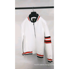 Spring Custom Casual PU Leather Men Blazer Jackets