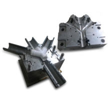 PE Flaring Pipe Fitting Molds with 4 Plastic Outer, Customized Designs are Accepted
