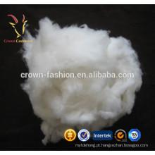 Merino de fibra de lã cinza claro penteado para fiação