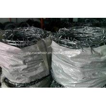 Arame farpado galvanizado Bwg12 * Bwg12 Venda quente com certificação (fábrica)