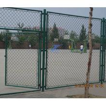 Valla y puerta de enlace de deporte de cadena para baloncesto (TS-E137)