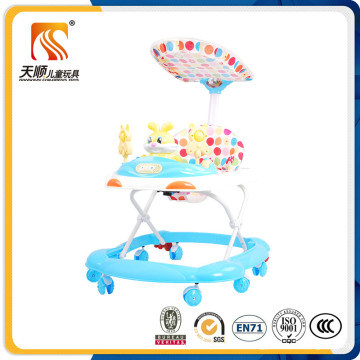 2016 Foldable Plastic Baby Walker in Good Quality
