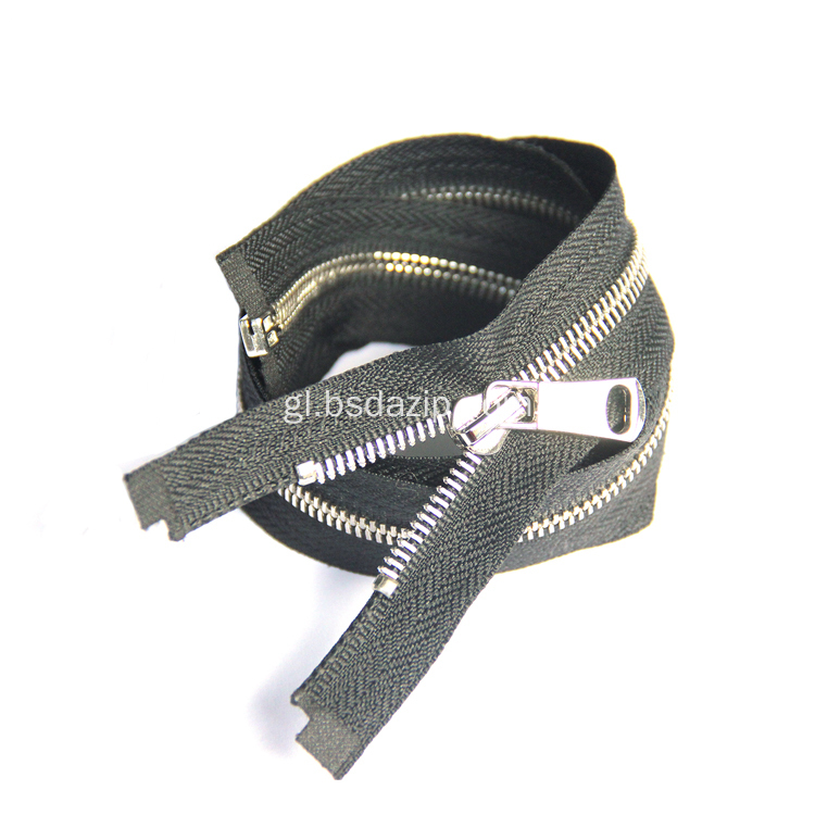 Metal No. 8 6 pulgadas de moda Zipper
