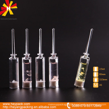 2.5ml transparent essential oil AS injection bottle