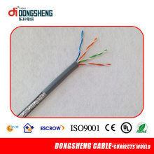 Certificados Cable UTP Cat5e de la fábrica cable impermeable del LAN
