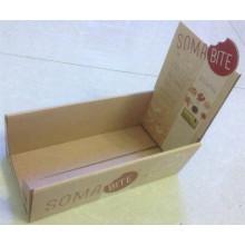 Boîte d'affichage colorée / boîte de présentation en papier ondulé