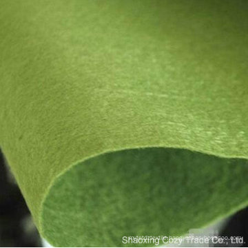 100% Polyester Needle Punched Nonwoven Color Felt