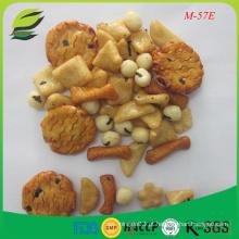 Biscoitos de arroz de cor natural biscoito de arroz espanhol
