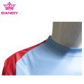 OEM Dri Fit Polyester Youth Soccer T-shirts