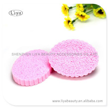 Colorful Flower Shape PVA Facial Sponge From Factory