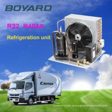 Monobloco independente r404a boyard compressor quarto frio da unidade condensadora