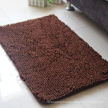 cheap microfiber brown door mat manufacturing