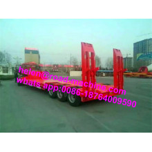 3 Gandar 100 Ton Low Bed Trailer Semi