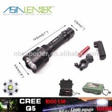 T6 / 10W-2000 Lumens, torche tactique de torche torche