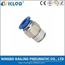 Zhejiang Ningbo Manufaktur Quick Connect Pneumatische Montage