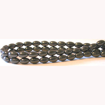 Hematite Rice Beads 4X7MM,Grade A&40CM