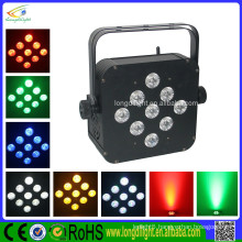 9*10W 5in1 battery powered LED flat par can/led stage uplights