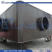 Flotteurs de ponton en acier pour le dragage et la construction marine (USA-1-001)