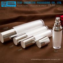 YB-ser série 15ml 30ml 50ml 120ml boa qualidade redonda frascos de loção cosmética acrílica