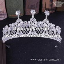 Alloy Crystal Handmade Wedding Queen Crowns