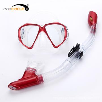 Mehrfarbige Anti-Fog-Silikon-Tauchmaske