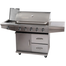 Outdoor furniture BBQ Gas Grill Stainless Steel Barbeque