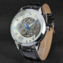 Automatic Customize brand skeleton mens watches