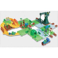 Blocos Jogo Track Brinquedos Train Series