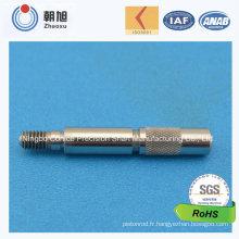 Arbre de double diamètre d'acier inoxydable d'usine d'OIN pour des voitures de jouet