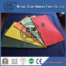 Tissu 100% non tissé PP utilisé pour le tissu de table
