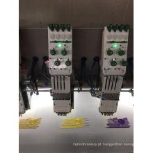Máquina de bordar plana de 30 cabeças de 4 cores
