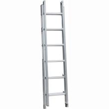 Escalera de extensión combinada de aluminio de 3 secciones 3 * 8 pasos